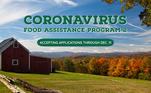 Coronavirus Food Assistance Program 2: accepting applications through December 11