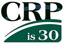Graphic of Farm Service Agency Conservation Reserve Program 30 logo