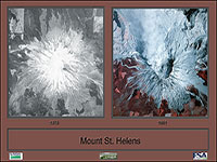 View samples of custom printing now available at the Aerial Photography Field Office, click on the Mount St. Helens image.